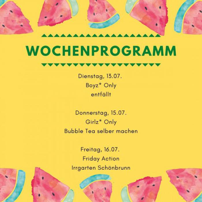 Wochenprogramm KW 28